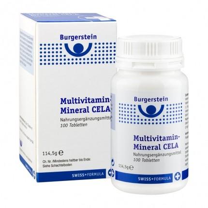 Burgerstein Multivitamines - Minéraux CELA, Comprimés - nu3