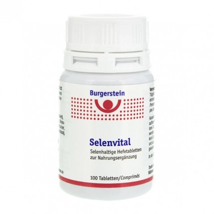 Burgerstein Selenvital, Tabletten