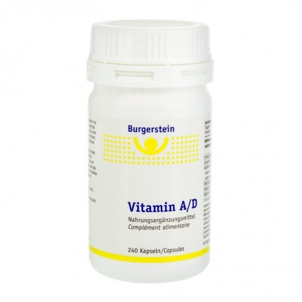 Burgerstein Vitamin A/D, Kapseln