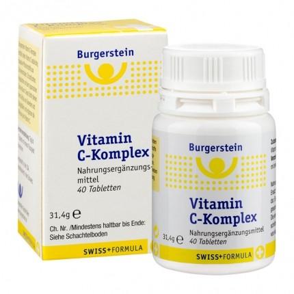 Burgerstein Vitamin C-Komplex 240 mg, Tabletten