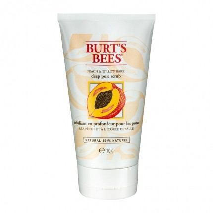 Burt's Bees Deep Pore Scrub Peach & Willow Bark