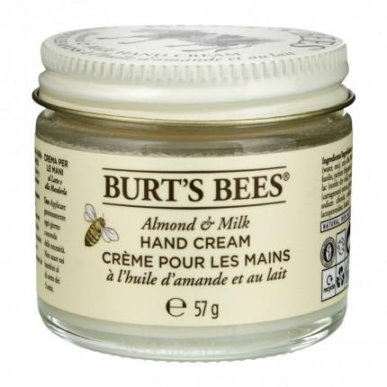 Burt's Bees Hand Crème - Almond Milk Beeswax (2 oz / 55 g)