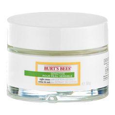 Burt's Bees Sensitive, Crème de Nuit