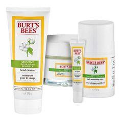 Burt's Bees Sensitive Gesichtspflege-Set für sensible Haut