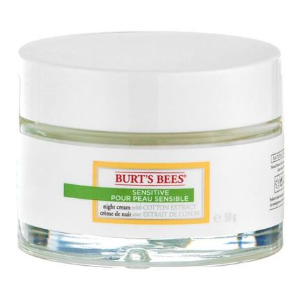 Burt´s Bees Sensitive Night Cream nattpleie