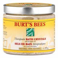 Burt's Bees Therapeutic Bath Crystals Badesalz mit Eukalyptus