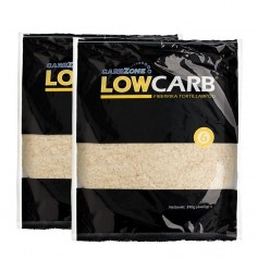 2x Carbzone Low Carb Tortillas, Small