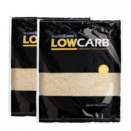 2 x Carbzone Low Carb Tortillas, Small