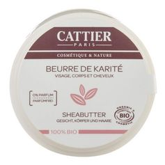 Cattier Paris Sheabutter 100% biologisch