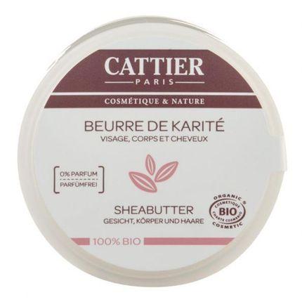 CATTIER Paris, Beurre de karité 100% bio