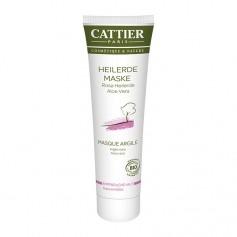 Cattier Paris Rosa Heilerde Maske für empfindliche Haut