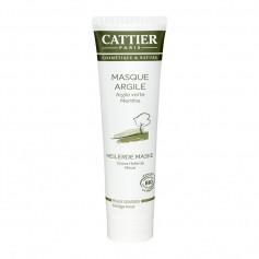 Cattier Paris Grüne Heilerde Maske für fettige Haut