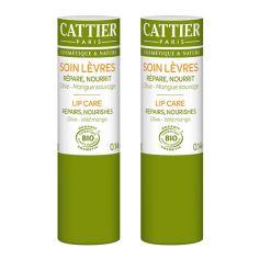 Cattier Paris Lippenbalsam Olive - Wild Mango Doppelpack