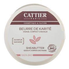 Cattier Paris Sheabutter 100% biologisch