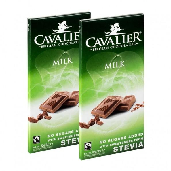 2 x Cavalier Stevia Schokolade Milk k bei nu3!