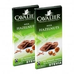 2 x Cavalier Stevia Schokolade Hazelnuts Milk