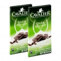 2 x Cavalier Stevia Schokolade Dark