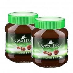 2 x Cavalier Stevia hasselnøtt-krem