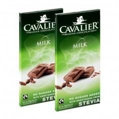 2 x Cavalier Stevia, melkesjokolade
