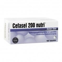 Cefasel 200 nutri Selen, Tabletten