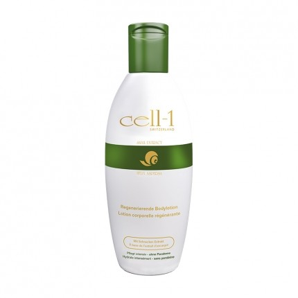 Cell-1 lotion corporelle à l'extrait de sécrétion d'escargot, 200 ml