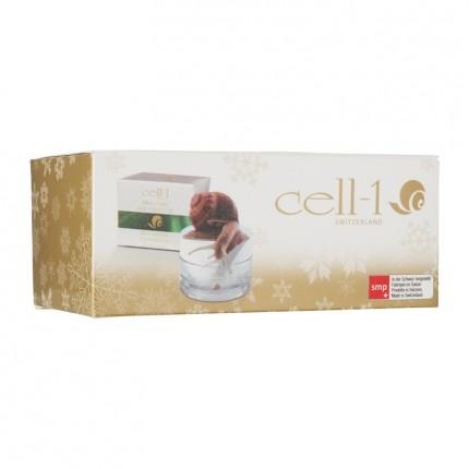 Cell 1 soin pour la peau l 39 extrait d 39 escargot set d 39 hiver - L escargot en hiver ...