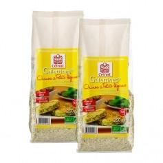 Celnat, Galettines quinoa et petits légumes bio, lot de 2