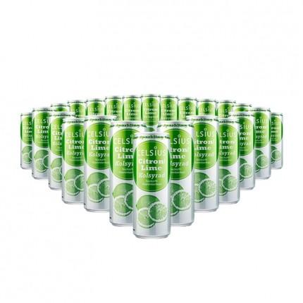 5 x Celsius Drik Citron/Lime Kulsyreholdigt