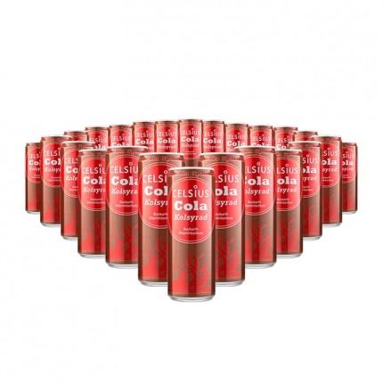 5 x Celsius Drik Cola Kulsyreholdigt
