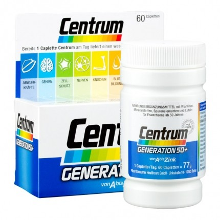 Centrum Generation 50+ Tablets