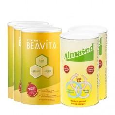 CH 2 x Almased Vitalkost, Pulver + 3 x BEAVITA Vitalkost, Pulver