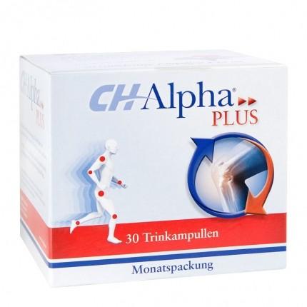 CH-Alpha Plus, Trinkampullen