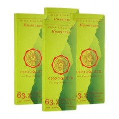 ChocQlate Virgin Cacao Schokolade, Haselnuss