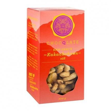 Chocqlate Raw Cacao Snack Kakaobohnen s��