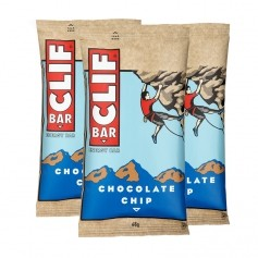 3 x CLIF Bar Chocolate Chip, Riegel