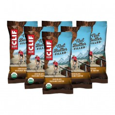 CLIF Bar Bio Nut Butter Filled, Chocolate-Hazelnut Butter, Riegel