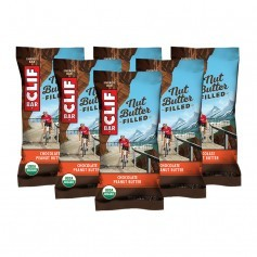 CLIF Bar Bio Nut Butter Filled, Chocolate-Peanut Butter, Riegel