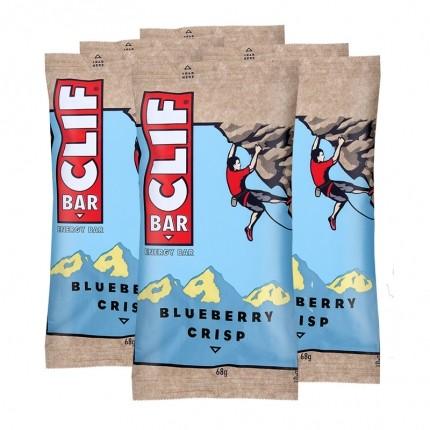 6 x CLIF Bar Blueberry Crisp, Riegel