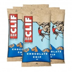 6 x CLIF Bar Chocolate Chip, Riegel