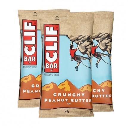 3 x CLIF Bar Crunchy Peanut Butter, Riegel