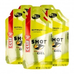 6 x CLIF Bar SHOT GEL, Citrus
