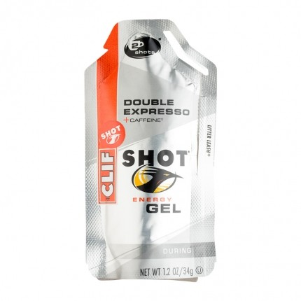 6 x CLIF Bar SHOT GEL, Double Expresso