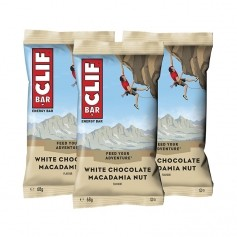 3 x CLIF Bar White Chocolate Macadamia, Riegel
