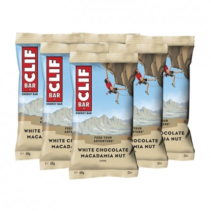 6 x CLIF Bar White Chocolate Macadamia, Riegel