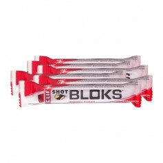 6 x CLIF Bar SHOT BLOKS, Strawberry