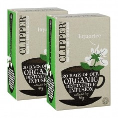 2x Clipper Tea - Lakrits örtte EKO