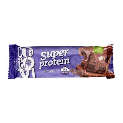 5 x CocoVi Superprotein Brownie -proteiinipatukka, luomu