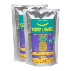 CrispnSmile Knusprige Früchte, Ananas