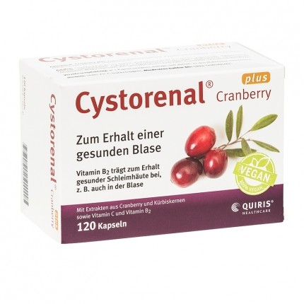 Cystorenal Cranberry Plus Capsules