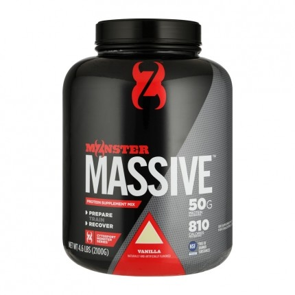 Cytosport Monster Massive, Vanille, Pulver